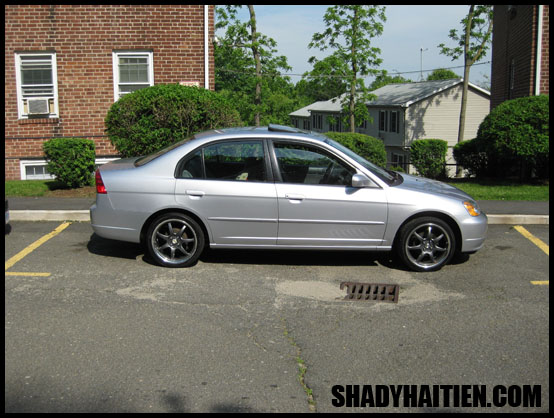 2003 Civic - 17 inch rims